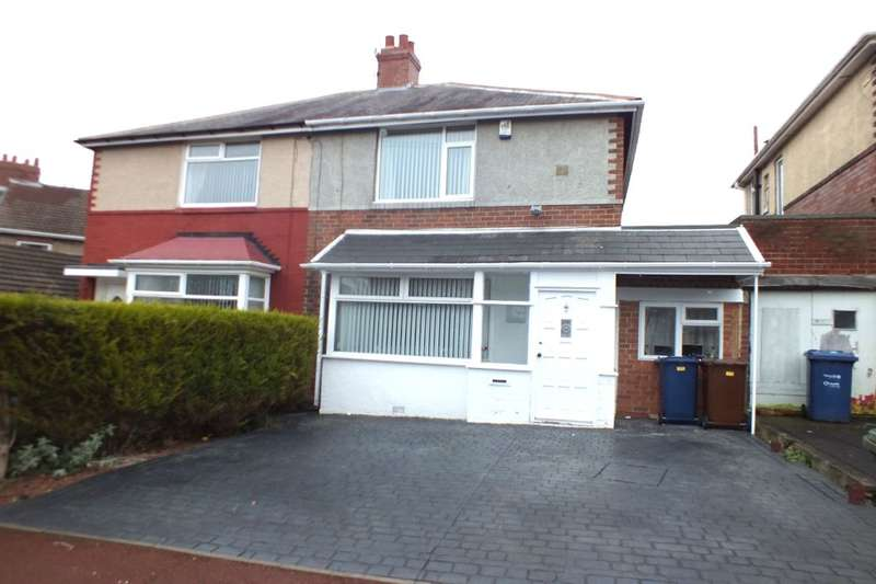 2 Bedrooms Semi Detached House for sale in Castleside Road, Newcastle Upon Tyne, NE15
