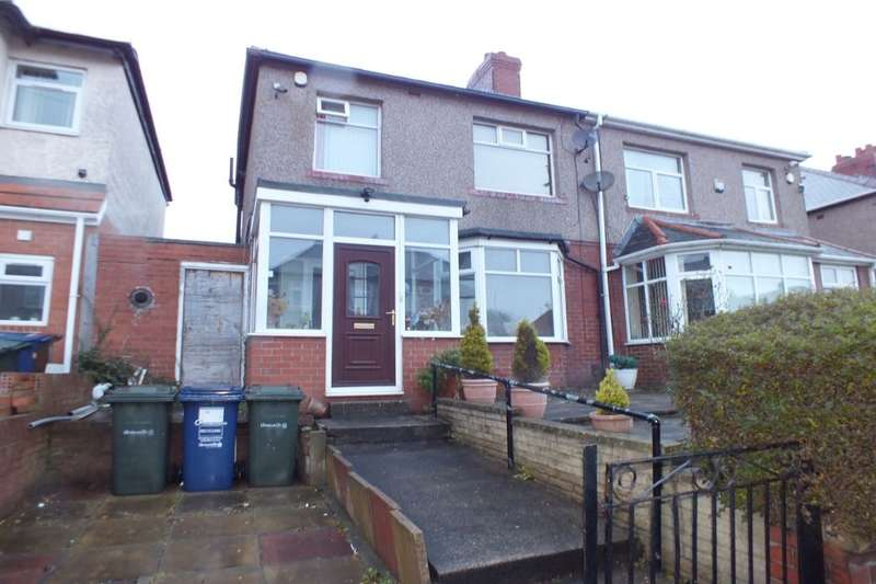 3 Bedrooms Semi Detached House for sale in Milvain Avenue, Newcastle Upon Tyne, NE4