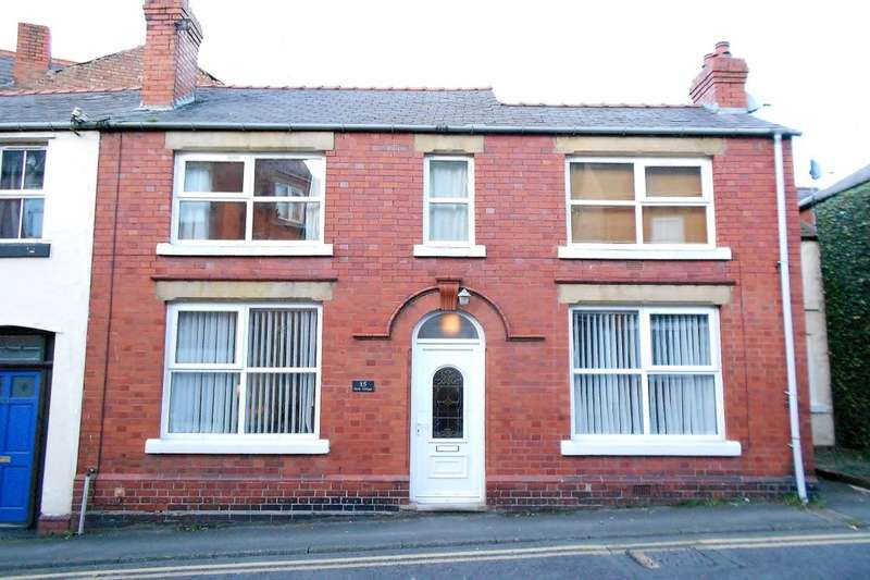 2 Bedrooms Terraced House for sale in Castle Street, Caergwrle, Wrexham, LL12