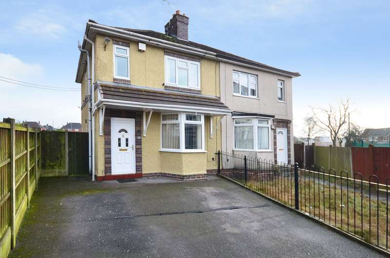 3 Bedrooms Semi Detached House for sale in Wood Place, Meir, ST3 6BW