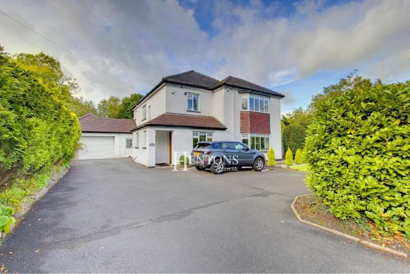 5 Bedrooms Detached House for sale in Hollybush Road, Cyncoed, Cardiff