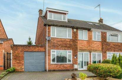 3 Bedrooms Semi Detached House for sale in Hillcrest, Leamington Spa, Warwickshire, England