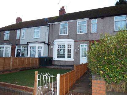 3 Bedrooms End Of Terrace House for sale in Burnaby Road, Radford, Coventry, West Midlands