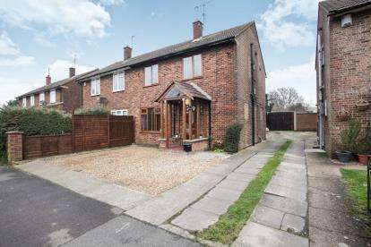 3 Bedrooms Semi Detached House for sale in Mountview Avenue, Dunstable, Bedfordshire, England