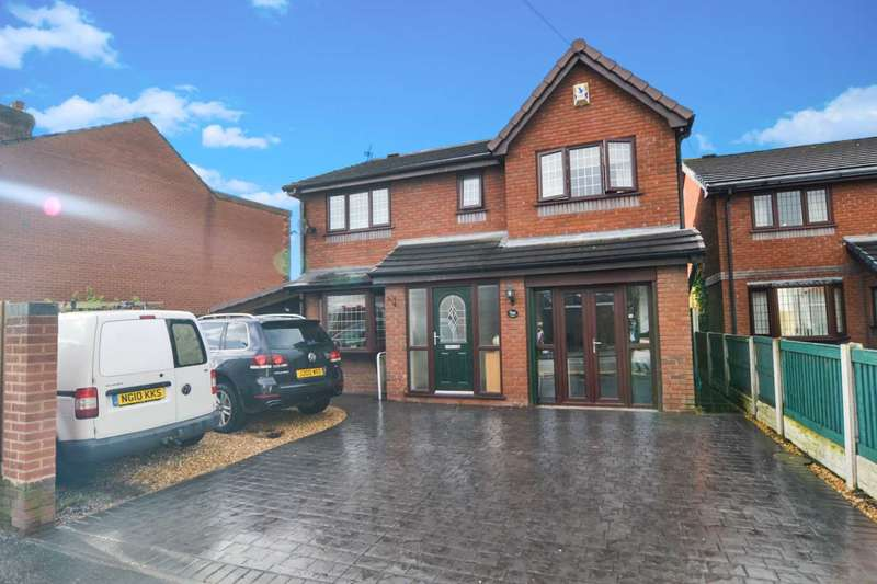 4 Bedrooms Detached House for sale in Wargrave Road, Newton Le Willows