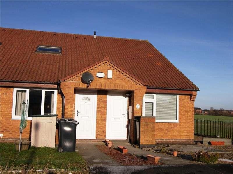 1 Bedroom Bungalow for sale in Cloverhill Close, Annitsford, Cramlington, Tyne & Wear, NE23 7UA