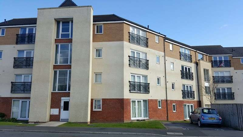2 Bedrooms Apartment Flat for sale in Brusselton Court, Stockton, Stockton-on-Tees, Cleveland, TS18 3AN