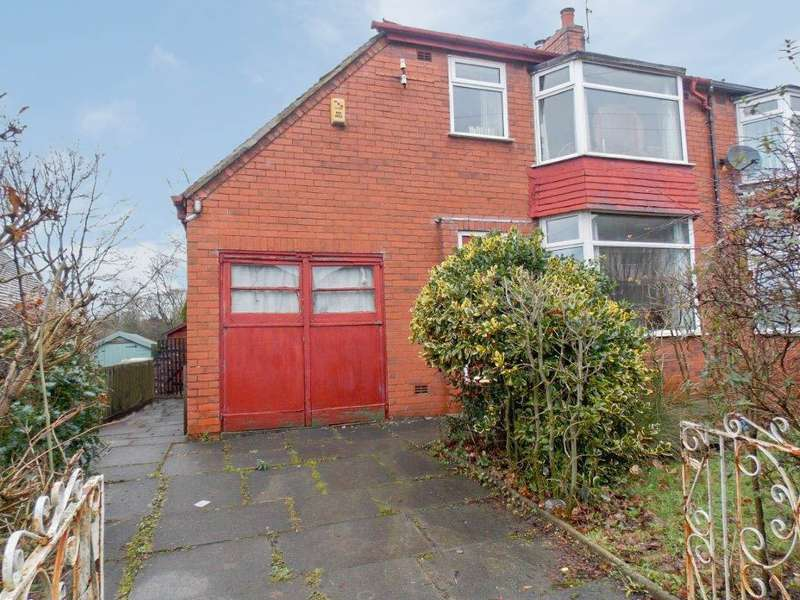 3 Bedrooms Semi Detached House for sale in Claypool Road, Horwich, Bolton, BL6