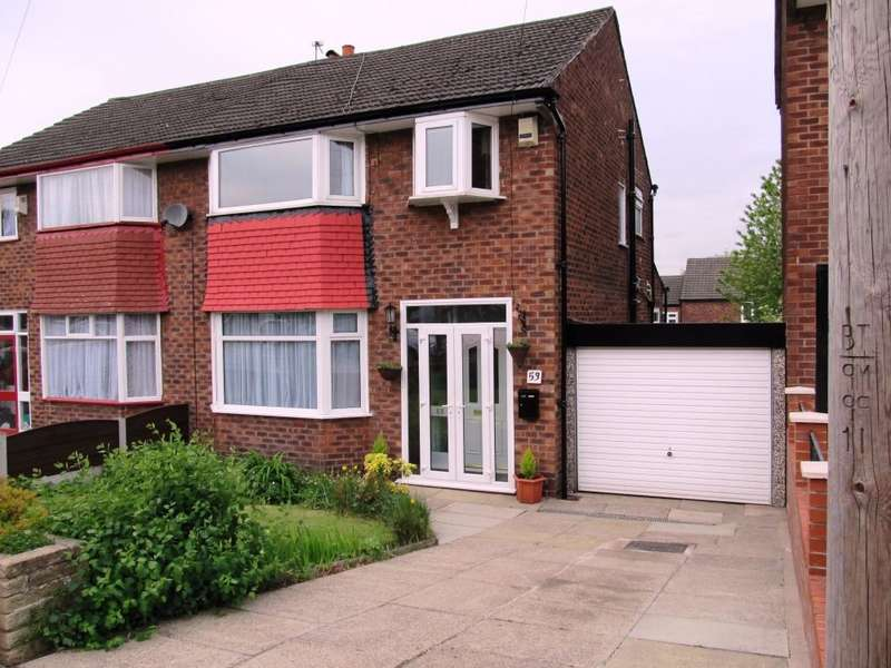 3 Bedrooms Semi Detached House for sale in Cuckoo Lane, Whitefield, Manchester, M45