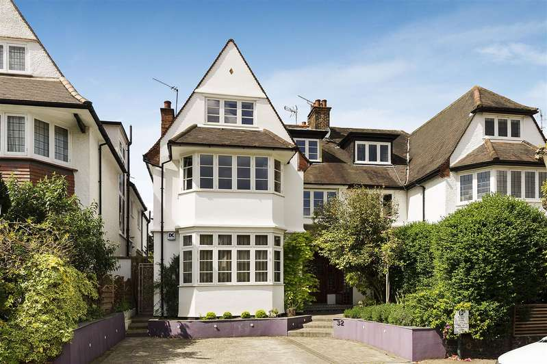 6 Bedrooms House for sale in West Heath Drive, Golders Hill Park NW11