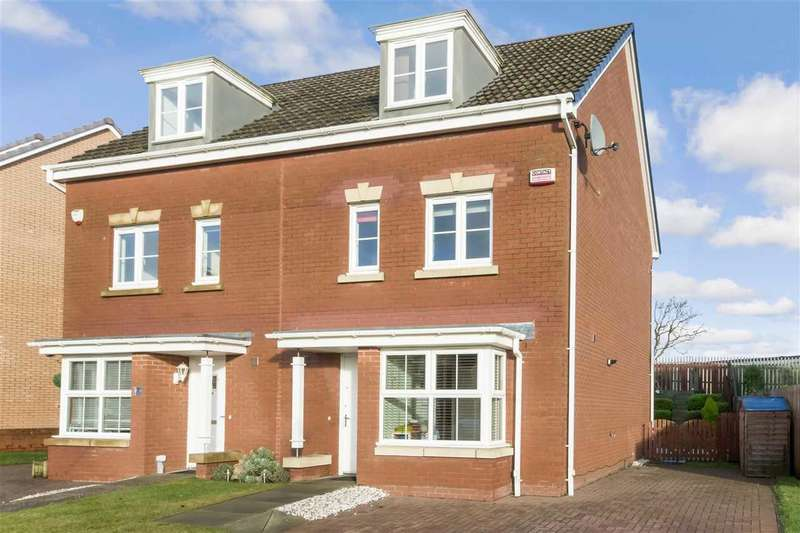4 Bedrooms Semi Detached House for sale in Jasmine Avenue, Ballerup Village, EAST KILBRIDE