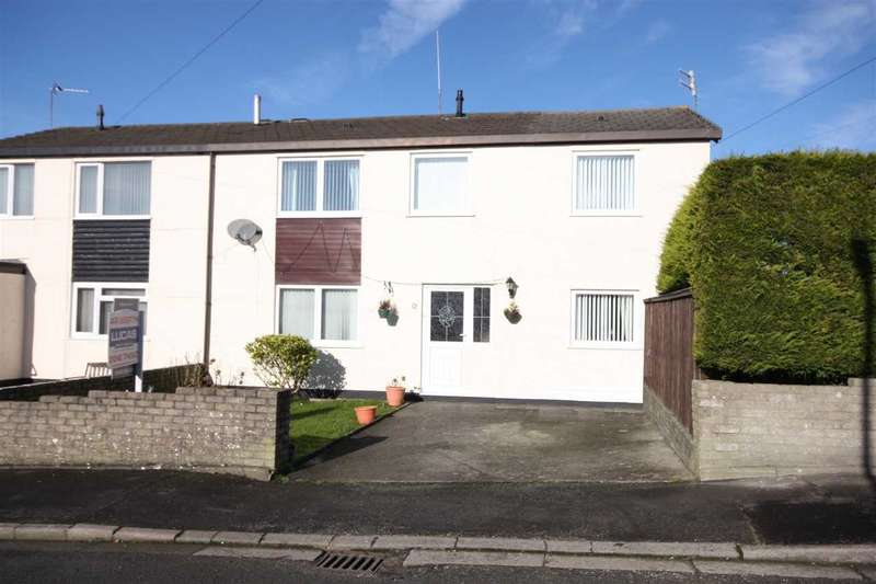 4 Bedrooms Semi Detached House for sale in Stad Ty Croes, Llanfairpwll