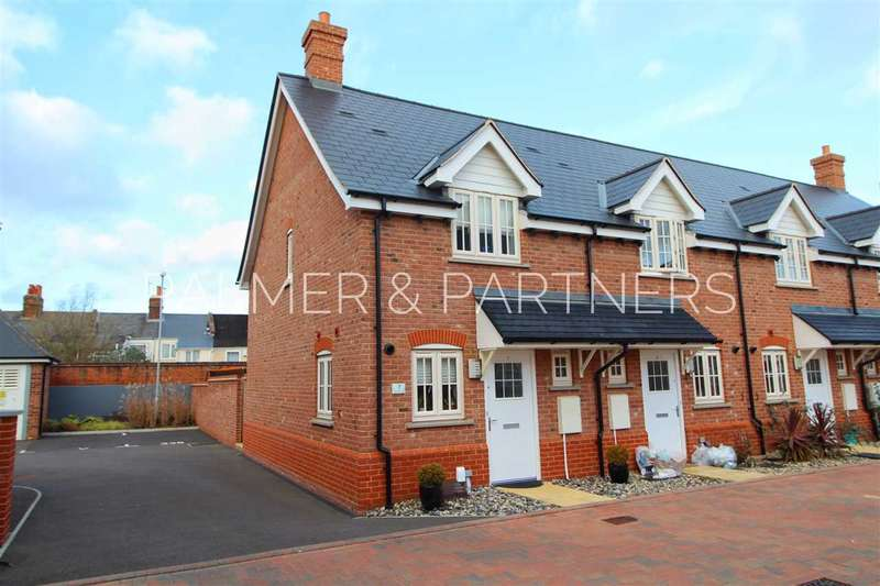 2 Bedrooms End Of Terrace House for sale in Corporal Close, Colchester