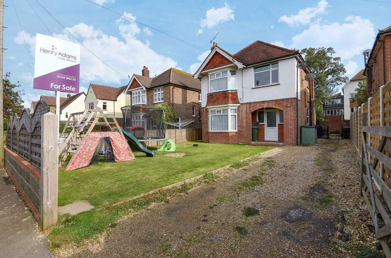 2 Bedrooms Flat for sale in Parklands Avenue, Bognor Regis, PO21
