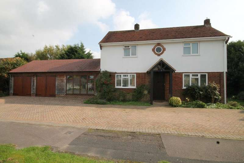 3 Bedrooms Detached House for sale in Bow Grove, Sherfield on Loddon