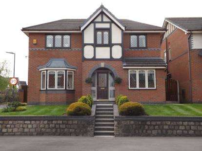4 Bedrooms Detached House for sale in Coe Lane, Tarleton, Preston, Lancashire, PR4