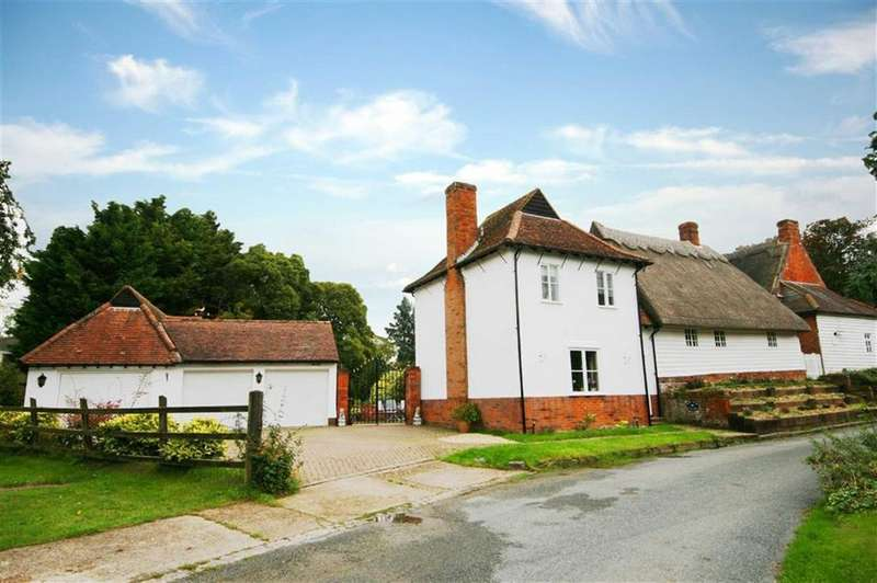 4 Bedrooms Detached House for sale in Bury End, Nuthampstead