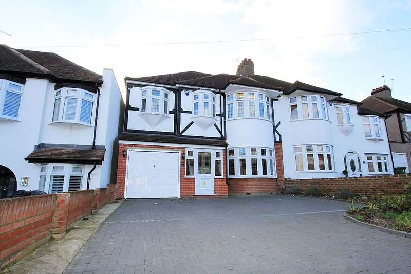 4 Bedrooms Semi Detached House for sale in Blendon Drive, Bexley, Bexley, Kent, DA5 3AB