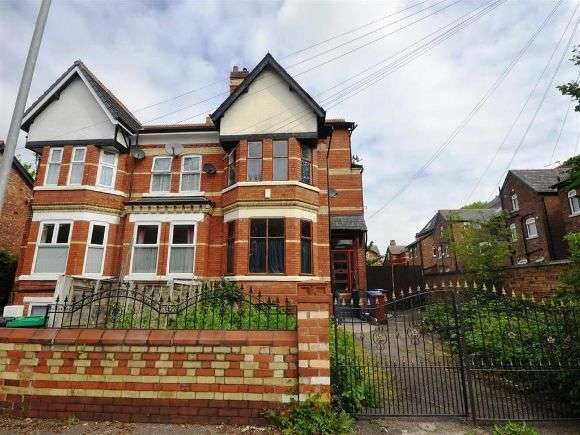 6 Bedrooms Semi Detached House for rent in Manley Road, Whalley Range, Manchester