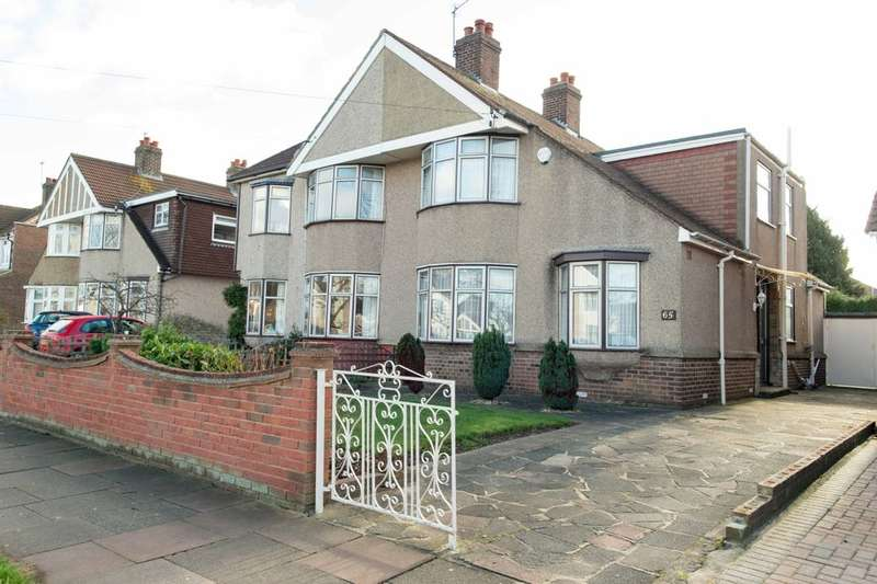 4 Bedrooms Semi Detached House for sale in Harland Avenue, Sidcup, DA15