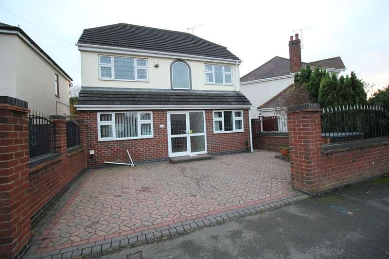 3 Bedrooms Detached House for sale in Margaret Avenue, Bedworth, CV12