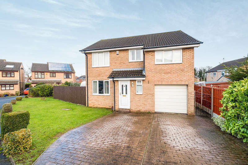 4 Bedrooms Detached House for sale in Caldbeck Place, North Anston, Sheffield, S25