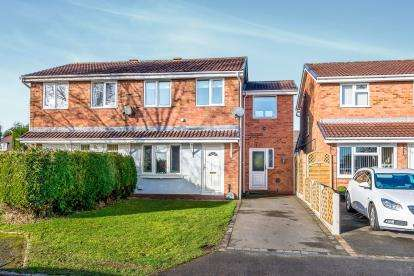 3 Bedrooms Semi Detached House for sale in Greenwood Park, Hednesford, Cannock, Staffordshire