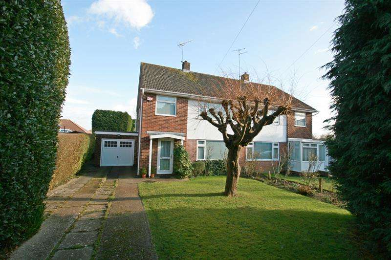 3 Bedrooms Semi Detached House for sale in Hillmead Gardens, Bedhampton, Havant