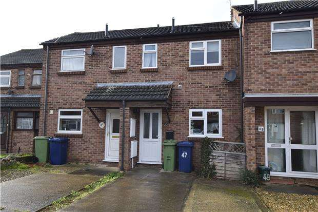 2 Bedrooms Terraced House for rent in The Sandfield, Northway, Tewkesbury