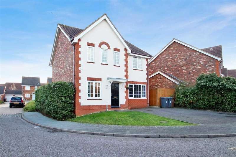 5 Bedrooms Detached House for sale in Durrant View, Grange Farm, Kesgrave, Ipswich