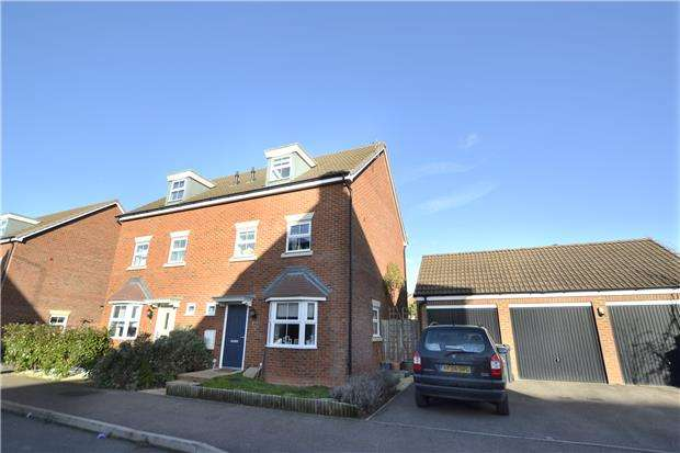 4 Bedrooms Semi Detached House for sale in Waddington Way Kingsway, Quedgeley, GLOUCESTER, GL2 2DQ