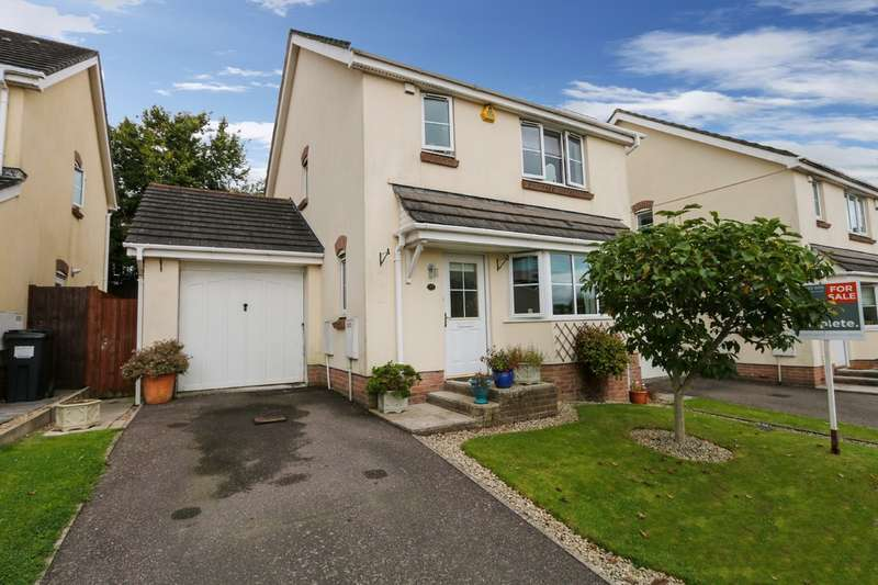 3 Bedrooms Detached House for sale in Knights Mead, Chudleigh Knighton