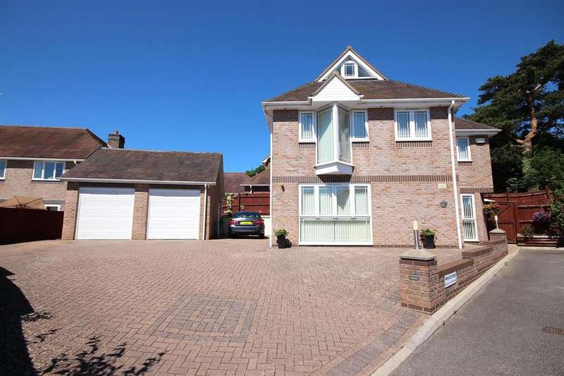 4 Bedrooms Detached House for sale in Marian Close, Corfe Mullen, Wimborne