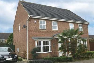 3 Bedrooms Semi Detached House for rent in Ryngwell Close, Brixworth, Northampton, NN6