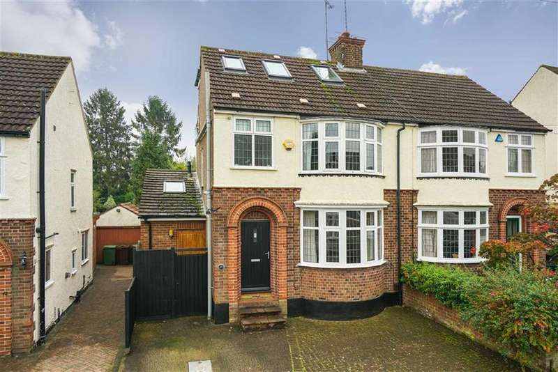 4 Bedrooms Semi Detached House for sale in St James Road, Harpenden, Hertfordshire