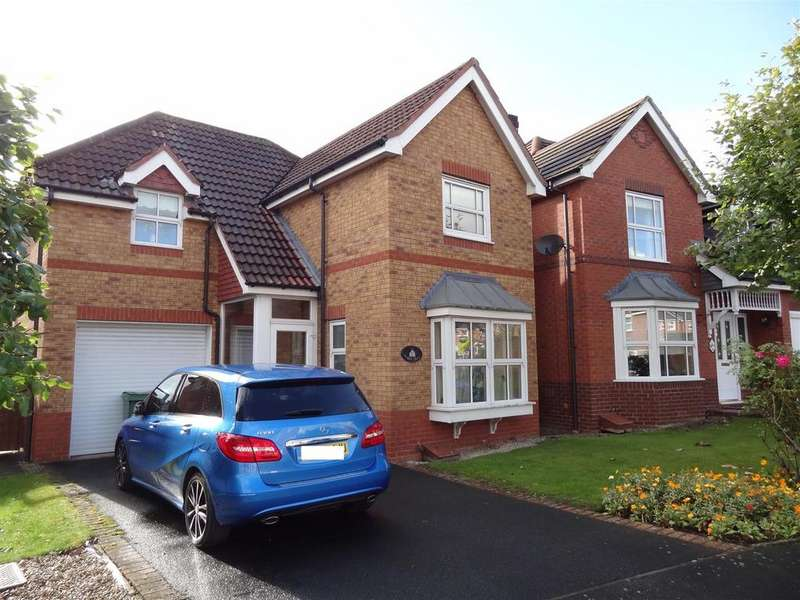 3 Bedrooms Detached House for sale in Hallam Drive, Berwick Grange, Shrewsbury