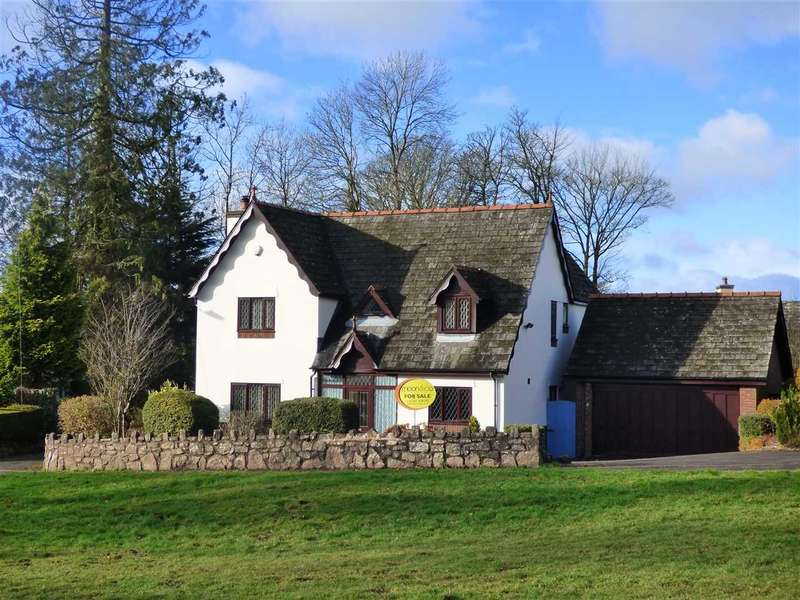 4 Bedrooms Detached House for sale in Cottage View, Devauden, Chepstow