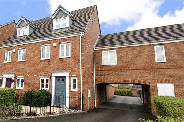 3 Bedrooms Terraced House for rent in Carnation Way, Nuneaton