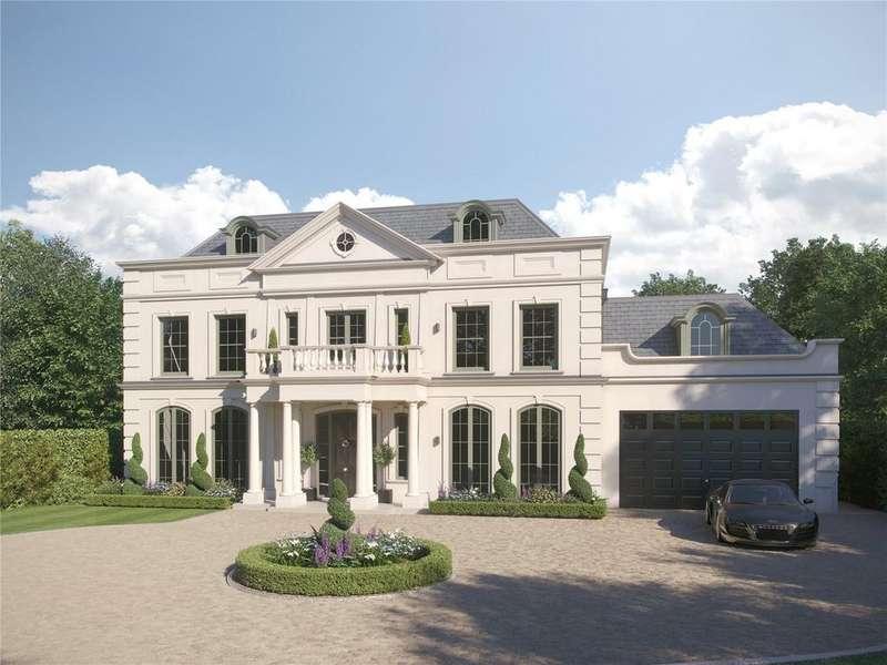 5 Bedrooms Detached House for sale in Eaton Park Road, Cobham, Surrey, KT11