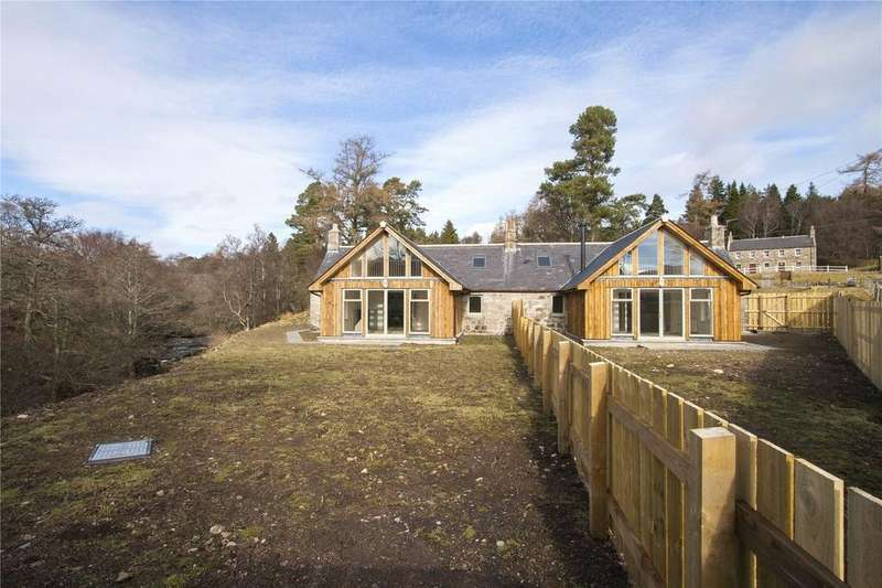 3 Bedrooms Semi Detached Bungalow for sale in 2 Tarfside Cottages, Glenesk, By Edzell, Angus, DD9