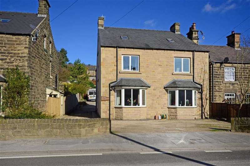4 Bedrooms Semi Detached House for sale in 6 The Meadows, Dale Road North, Darley Dale, Matlock, Derbyshire, DE4