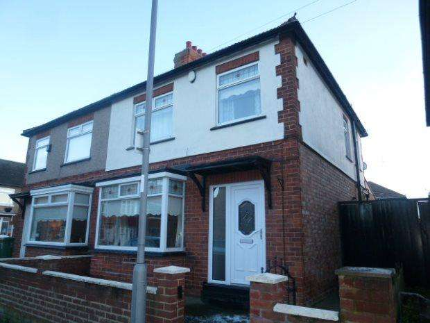 3 Bedrooms Semi Detached House for sale in CUNDALL ROAD, GRANGE ROAD, HARTLEPOOL