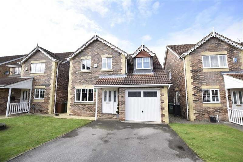 4 Bedrooms Detached House for sale in Islay Close, Rothwell, LEEDS, LS26