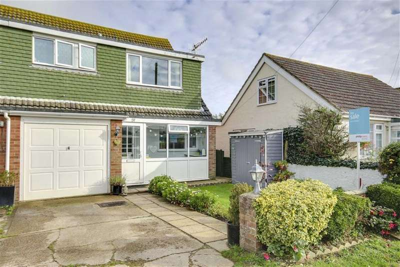 4 Bedrooms Semi Detached House for sale in Rowe Avenue, Peacehaven