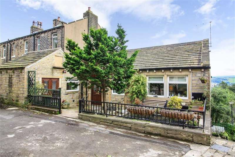 2 Bedrooms House for sale in Rock Fold, Golcar, Huddersfield