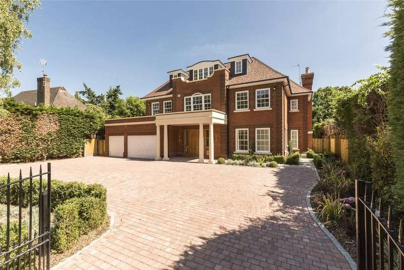 6 Bedrooms Detached House for sale in Fairbourne, Cobham, Surrey, KT11