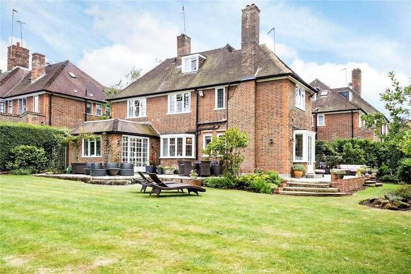 5 Bedrooms Detached House for sale in Milton Close, Hampstead Garden Suburb, London, N2