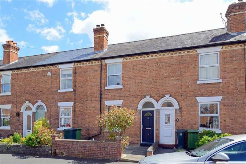 2 Bedrooms Terraced House for sale in Percy Street, Greenfields, Shrewsbury, Shropshire