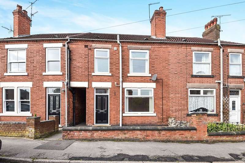 2 Bedrooms Terraced House for rent in Argyll Road, Ripley, DE5