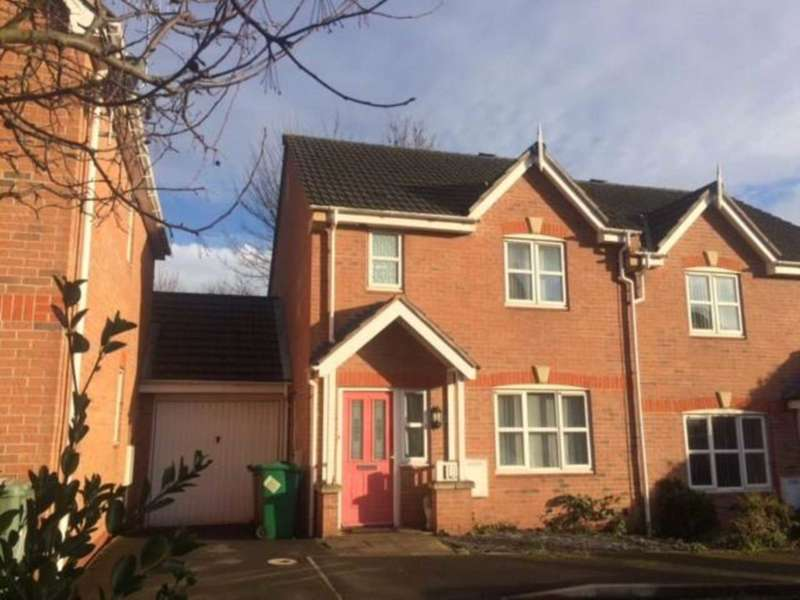 3 Bedrooms Semi Detached House for rent in Marsden Close, Nottingham NG6 0BR